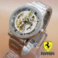 Jam Tangan Pria Automatic Ferrari Skeleton (SevenFriday Seiko Casio)