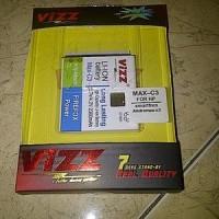 Baterai Baterei Batre Dobel Power Vizz Smartfren Andromax C-3 C3 2300m