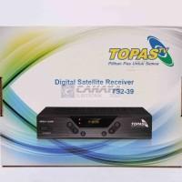 Receiver TV Topas Free 2 Tahun All Channel Mpeg4 TS2-39 Ada Port HD MI