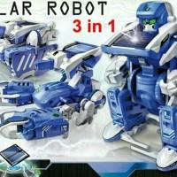 Jual solar kit diy education toys mainan robot tank bukan boneka baymax Murah