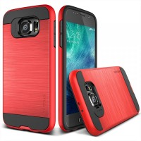 Verus Galaxy S6 Case Verge - Crimson Red