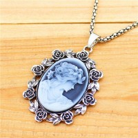 Kalung Vintage Look Antique Silver Plated