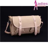 Tas Fashion Wanita - Creamie Dual Belt Messenger Bag