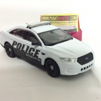 FORD POLICE INTERCEPTOR - SKALA 1:24 - WELLY (DIECAST - MINIATUR)