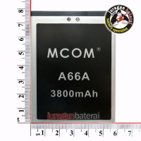 Baterai/Battery MCOM ELEVATE Y for EVERCOSS A66A 3800mAh Double Power
