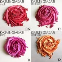 harga Pashmina Kashmir Gradasi Tokopedia.com