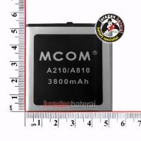 Baterai/Battery MCOM for MITO A210  A810- 3800mAh Double Power