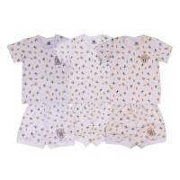 TOKUSEN - Kaos Pendek + Celana Sg4 Rip - Froggy - size ML@3set
