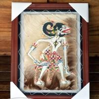 harga Lukisan Wayang Hanoman Si Kera Putih 35 x 45 cm2 Kulit Kambing ASLI Tokopedia.com
