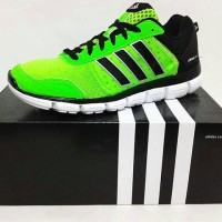 Sepatu running adidas wmns climacool aerate hijau original asli murah