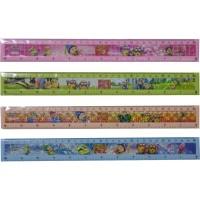 penggaris ruler kartun minion 30 cm warna warn ialat tulis stationery