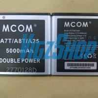 Baterai Battery Cross Evercoss A7t/a8t/a25 5000mah Mcom Double Power