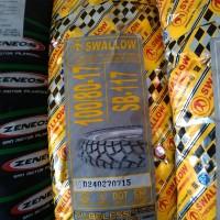 harga Ban Semi Cross Swallow SB117 Street Enduro 100/80 - 17