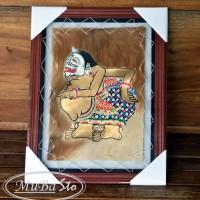 harga Lukisan Wayang Tokoh Punakawan Semar 35 X 45 Cm2 Kulit Kambing Asli Tokopedia.com