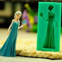 harga Cetakan Silikon Tebal Lunak Motif Ratu Elsa