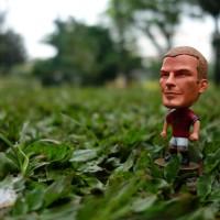 harga Miniatur Pemain Sepak Bola - David Beckham - Manchester United Tokopedia.com