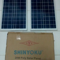 harga Solar cell/Panel surya shinyoku 20wp poli Tokopedia.com