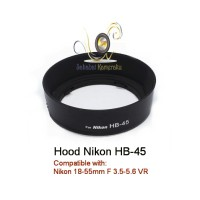 Lens Hood HB-45 for Nikon 18-55mm F 3.5-5.6 VR