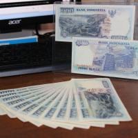 uang kuno 1000 rupiah 1992