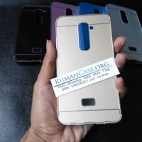LG G2 D802 - Metal Bumper Aluminium Back Cover Case