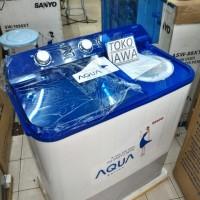 harga Sanyo Mesin Cuci Aqua Series Sw-930xt Kapasitas Big Size 9kg Tokopedia.com