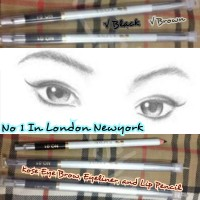KOSE Eyeliner, lip liner, eye brow pencil No 1 Di London Newyork