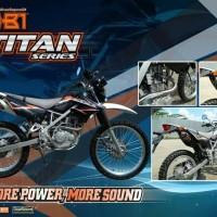 Knalpot Nob1 Titan Series KAWASAKI KLX 150/ DT
