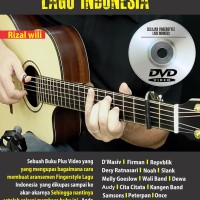 Buku Gitar - Belajar Fingerstyle Lagu Indonesia