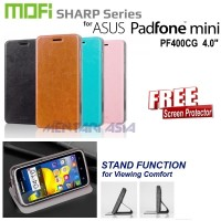 Flipcover Asus Padfone Mini Pf400cg: Mofi Sharp Series ( + Free Sp)