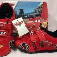 Sepatu anak - Disney Racing Cars - Red Black (Sz.26-30)