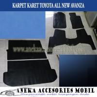 Karpet Karet/Karpet Lantai Karet Mobil Toyota All New Avanza/Veloz