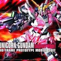 HG 1/144 Unicorn Gundam Destroy Mode