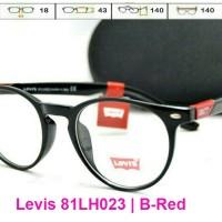 harga Kacamata Frame | Levis 81lh023 (pria/wanita) | Bulat | Baca/minus Tokopedia.com