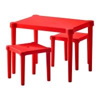 IKEA Utter - Meja Anak dengan 2 Bangku | Meja Kursi Anak | Perabot Anak