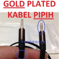 Kabel Aux audio Auxiliary 3.5mm samsung iphone ipad lenovo sony xiaomi