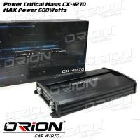 Power 4CH Critical Mass CX 4270 [ORION CAR AUDIO BANDUNG]