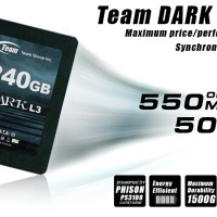 SSD TEAM DARK L3 SSD 240GB with Bracket