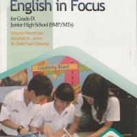 Buku BSE: B. Inggris Untuk SMP/MTs Kelas 9
