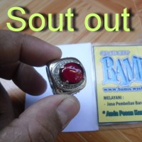 harga Merah Siem , Merah Delima Ring Titan Size 7/ 8 Dim : 15x13x4mm Tokopedia.com