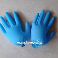 harga Handscoon Biru Muda / Handscon / Handskun / Sarung Tangan Medis Tokopedia.com