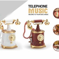 harga Kotak Musik Telephone , Classic Dial Berputar,phone , Telephone Jadul Tokopedia.com