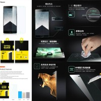 Antigores Kaca Baseus Tempered Glass Screen Guard OnePlus Two 2