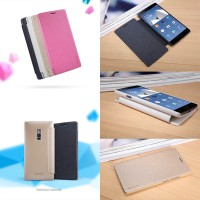 Flipcase Nillkin Sparkle Leather Flip Book Cover Case OnePlus Two 2