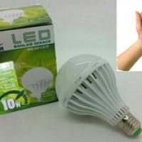 lampu bohlam sensor suara / tepuk 10 watt