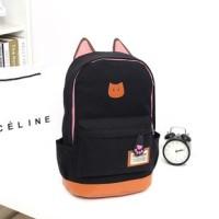 harga Tas Ransel Backpack Sekolah Kuliah Jalan Import Korea - Cat Kucing Bag Tokopedia.com