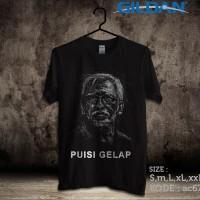 Kaos Musik Iwan Fals,puisi Gelap-kaos Original Gildan Softstyle