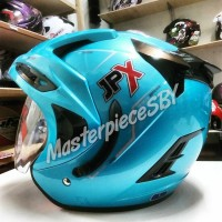 harga Biru/blue Ice Helm Jpx Supreme Original Kualitas Ink,kyt,mds,nhk,bogo Tokopedia.com