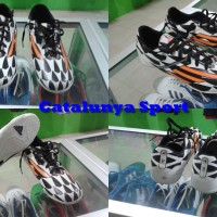 Sepatu Fustal Adidas F10 Black White