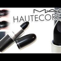 "MAC Lipstick Hautecore ""BLACK"""
