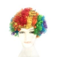 Jual Wig Kribo WARNA WARNI (RAINBOW)/ Wig Badut / Wig Cosplay/Rambut PalsU Murah